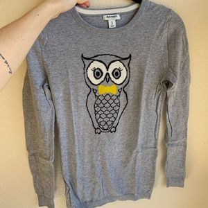 Old Navy Owl Sweater XS Brand New Supa Cute! 🦉
